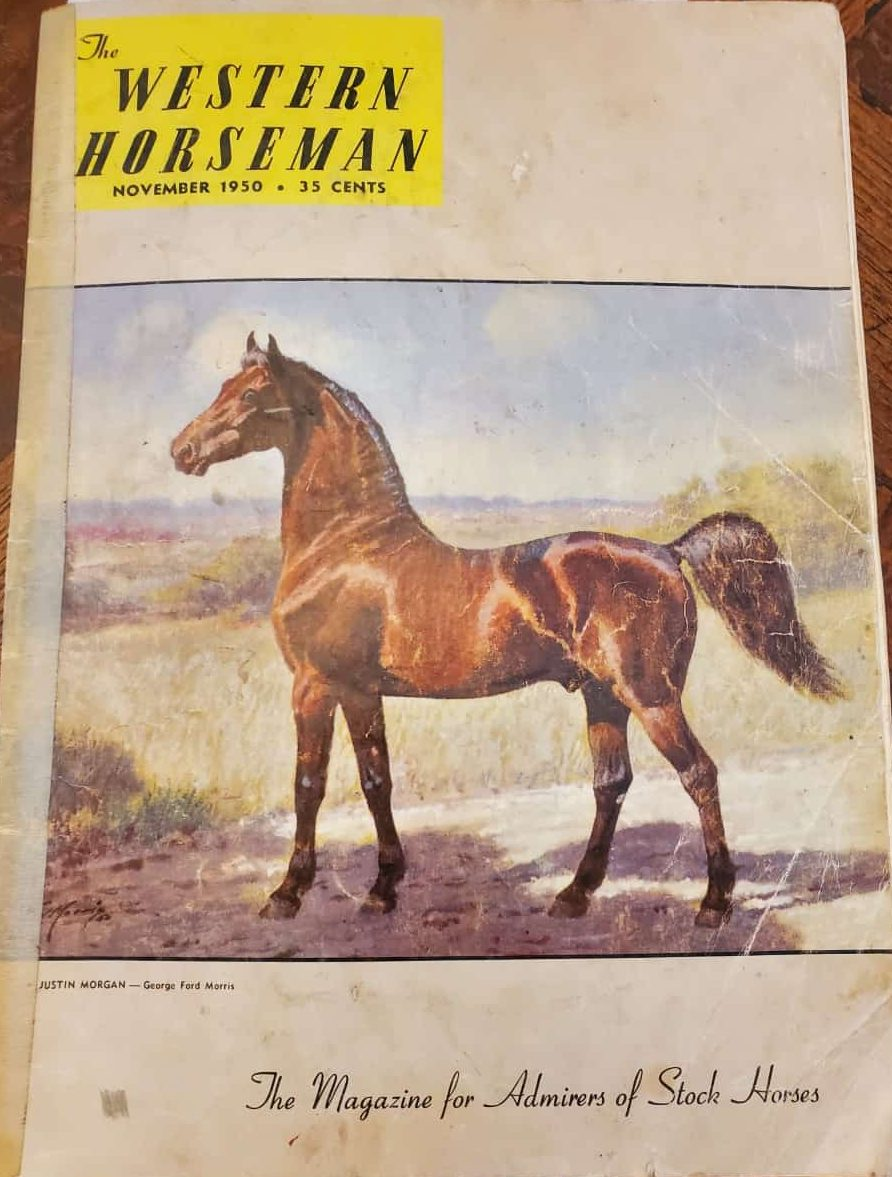The Western Horseman Magazine November 1950