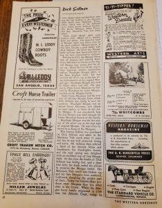 The Western Horseman Magazine November 1950 - pg 32
